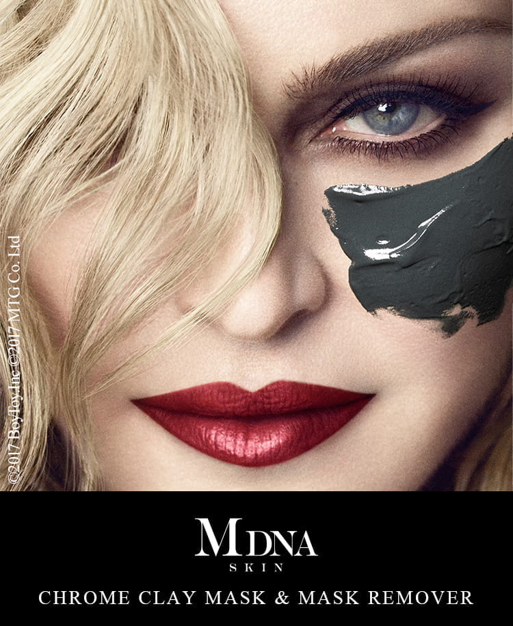 MDNA SKIN CHROME CLAY MASK & MASK REMOVER