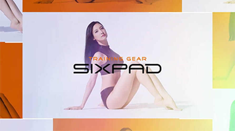 SIXPAD | with more effort篇:菜々緒(1分17秒)